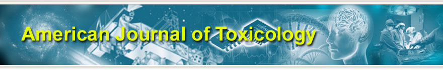 American Journal of Toxicology