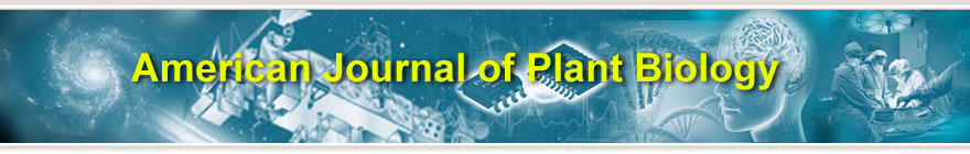 American Journal of Plant Biology