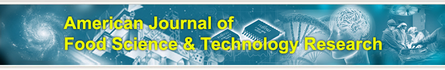 American Journal of Food Science & Technology Research